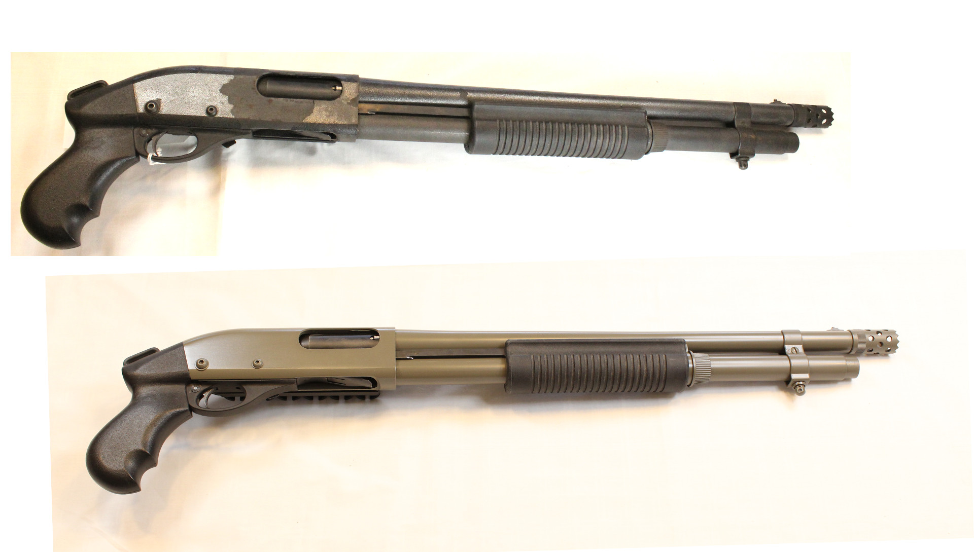 Remington 870 - Before and After